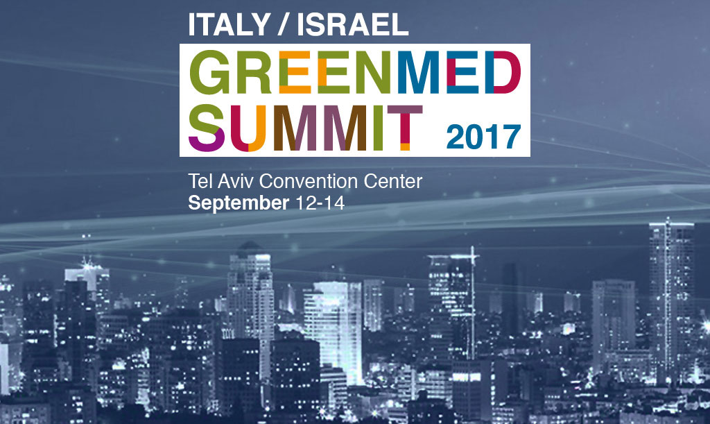 Italy / Israel GreenMed Summit 2017