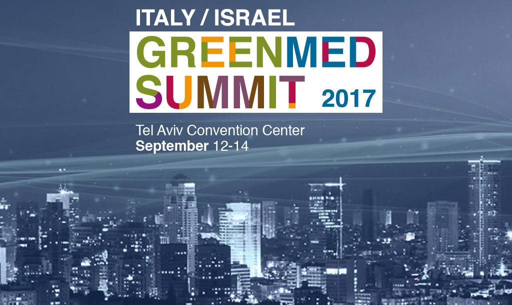 Italy / Israel GreenMed Summit 2017